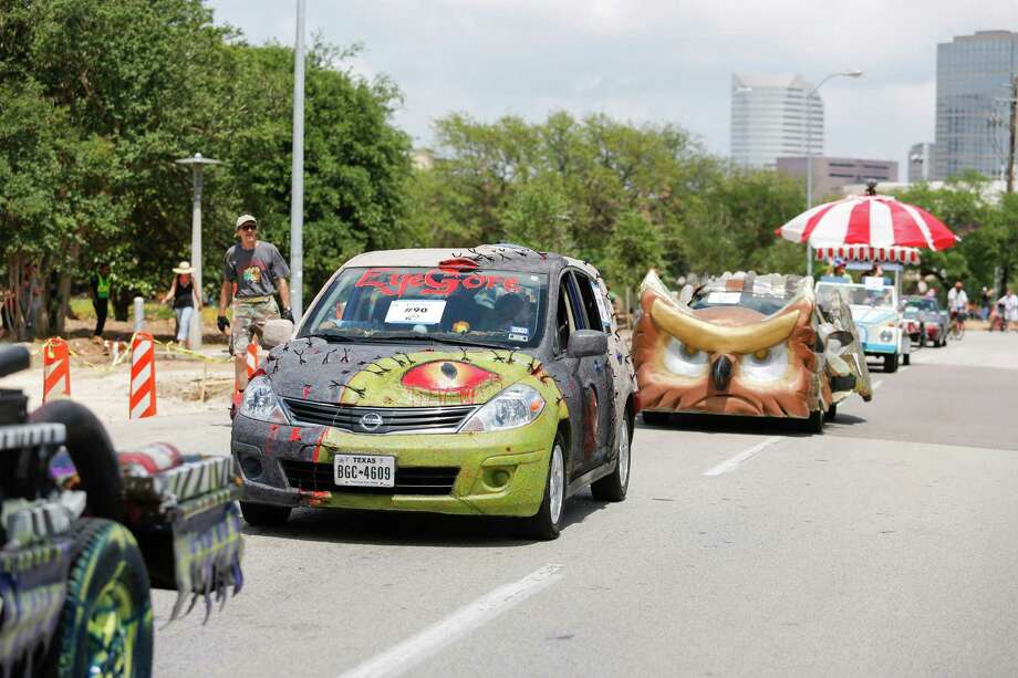 The Art Car Parade has inspired nearly 30 schools and youth groups to enter its unique competition this year. Photo: Eric Kayne / Eric Kayne