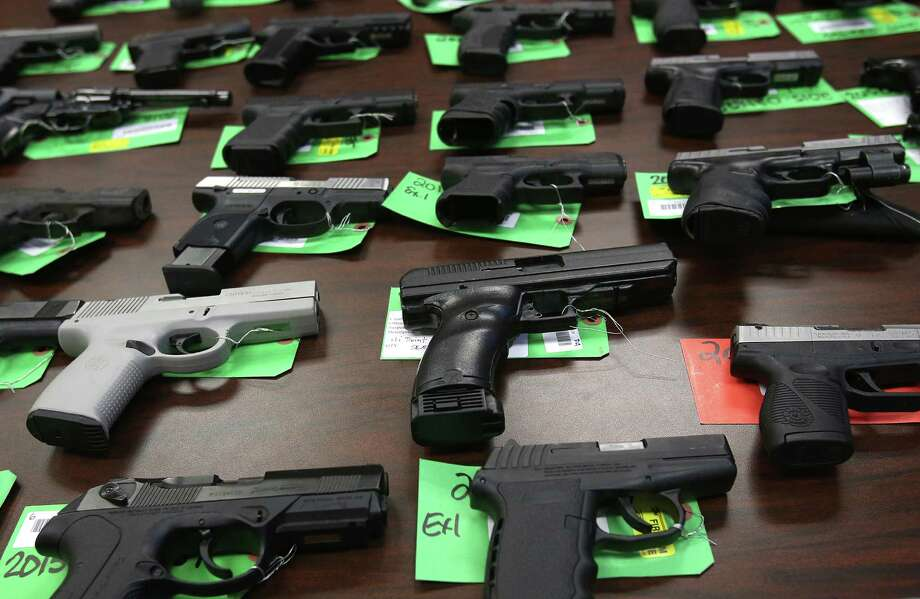 According to an in-depth report by Marie Claire magazine, 63 percent of women in the U.S. want gun laws to be a major topic in the coming presidential debates. What do female politicians and figures have to say about the status of firearms in American society? Photo: Patti Blake | The News Herald, MBO / News Herald