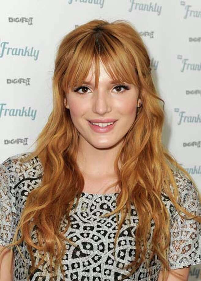 Singer-actress Bella Thorne is part-Cuban. Keep clicking to seeother stars you may not have known were Latino. Photo: Kevin Winter, Getty Images / 2013 Getty Images