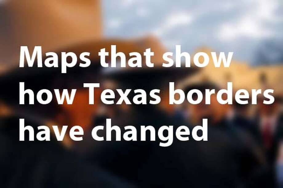 See how the state's borders have evolved. Photo: Chron