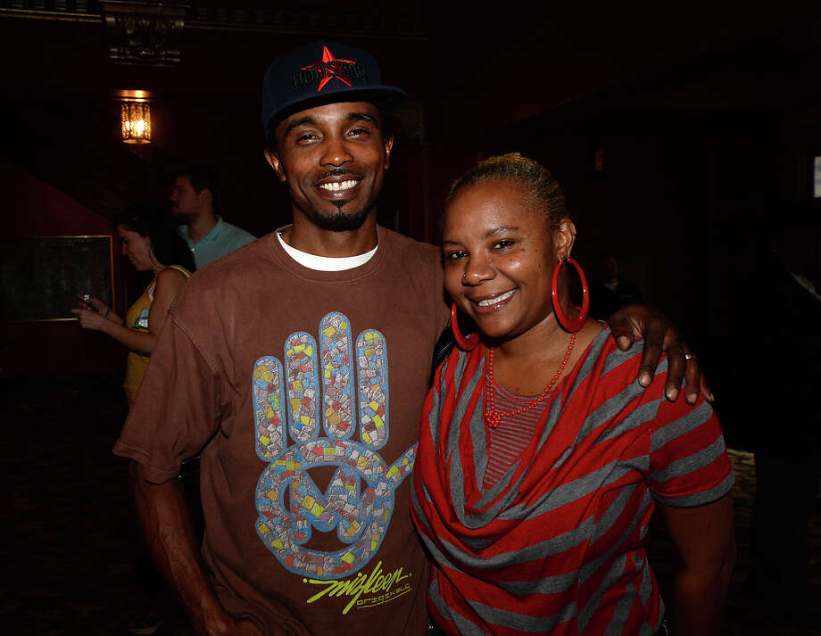 """Keoki and Shontele Bass attended Thursday's showing of """"What's Love Got to Do With It"""" at the Jefferson Theatre. Photo taken Thursday, April 90, 2015 Kim Brent/The Enterprise Photo: Kim Brent / Beaumont Enterprise"""