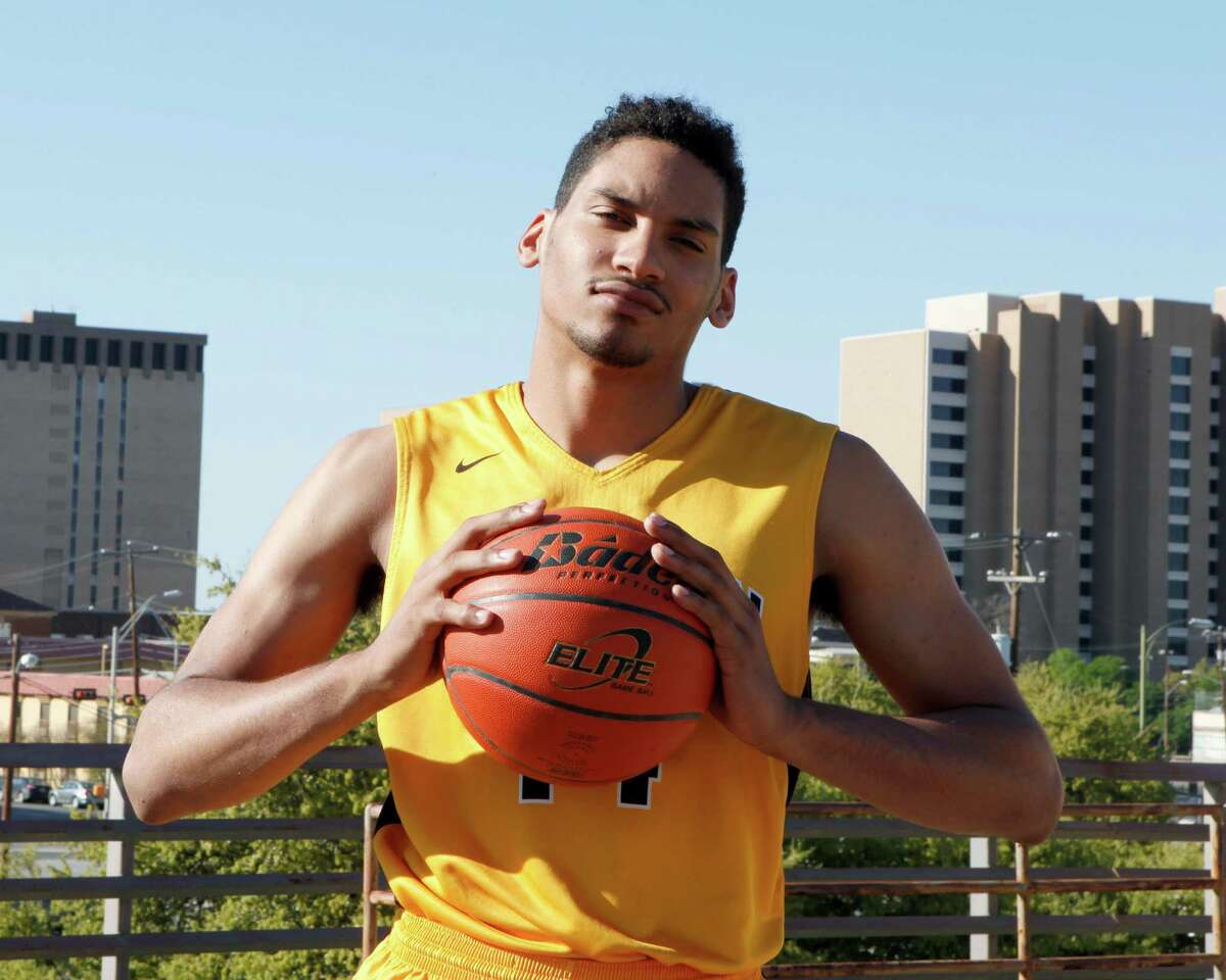 Jordan Murphy of Brennan was chosen for the 2015 Express-News All-Area basketball team and the player of the year.