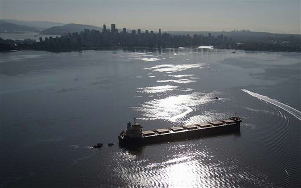 A relatively minor 2015 oil leak from a cargo ship in Vancouver's English Bay sent oil ashore on beaches of West Vancouver and Vancouver, spurring concern about what would happen with a major oil tanker spill.