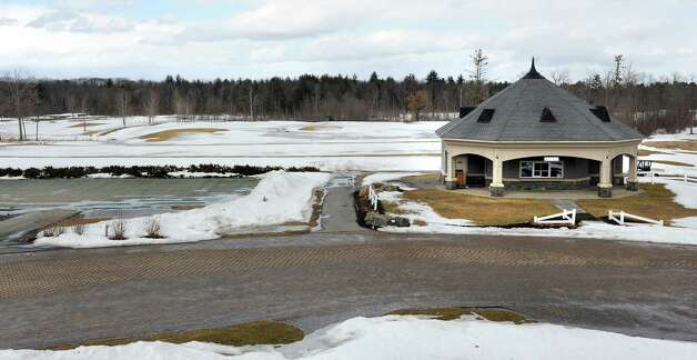 View from the club house shows the proposed expansion area out to the tree line on Tuesday, March 17, 2015, at Saratoga National Golf Club in Saratoga Springs, N.Y. (Cindy Schultz / Times Union) Photo: Cindy Schultz / 00031064A