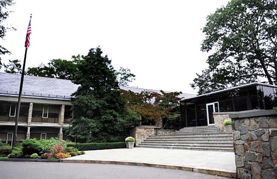 The Bridgewater Associates' campus on Glendinning Place. Photo: File Photo / Westport News