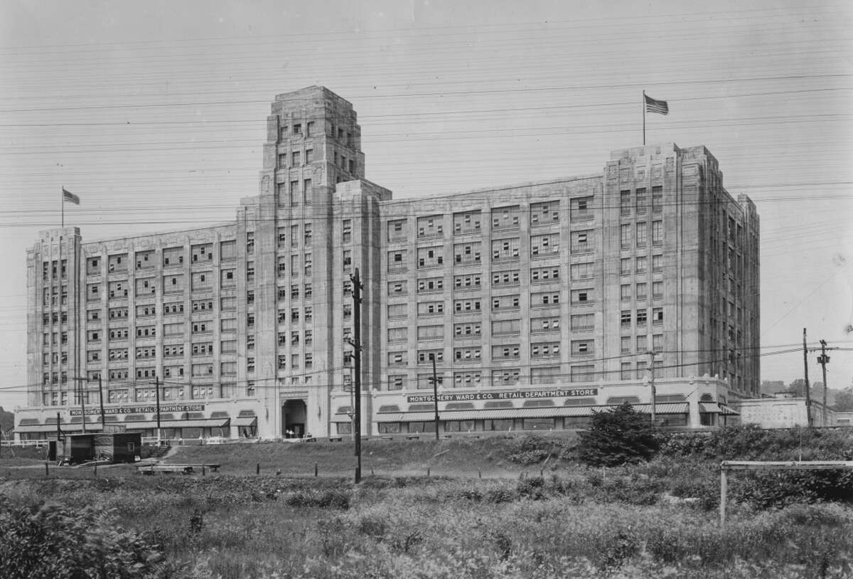 Montgomery Ward Department Store on Broadway May, 17, 1932, in Menands, N.Y. (Times Union archive)