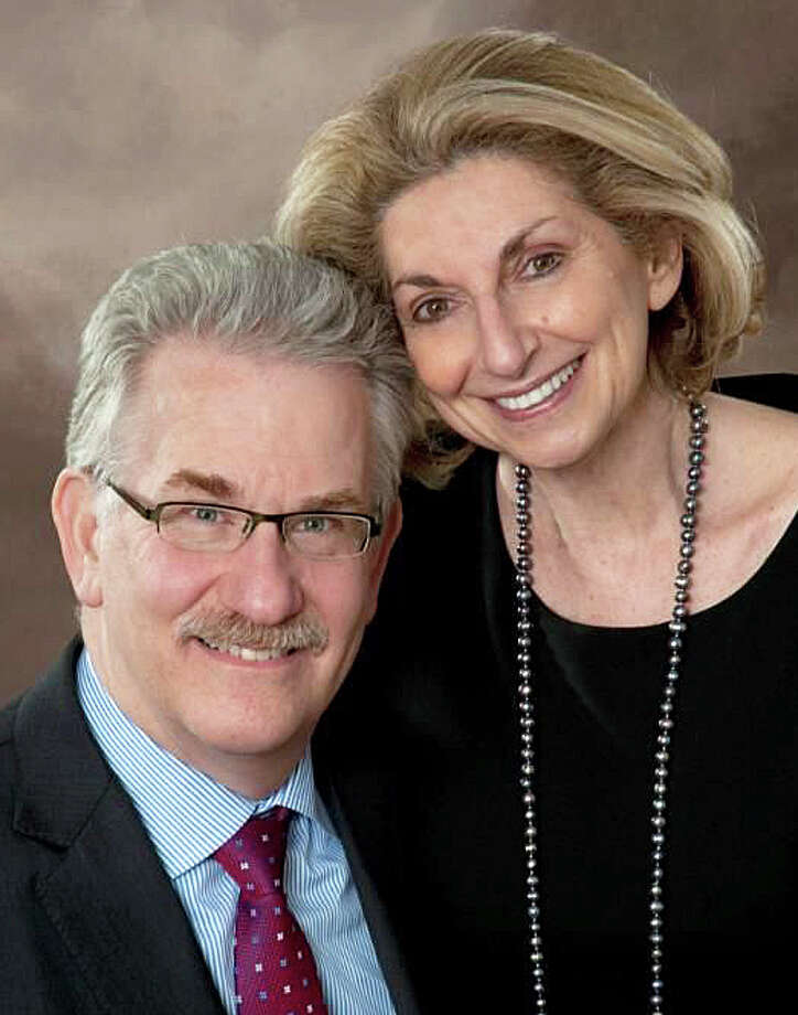 "Jon Fraade and Rita Appel will be presented with the ìMitzvah Award"" from Jewish Family Service in May. Photo: Alison Wachstein Photo: Alison Wachstein / Westport News"