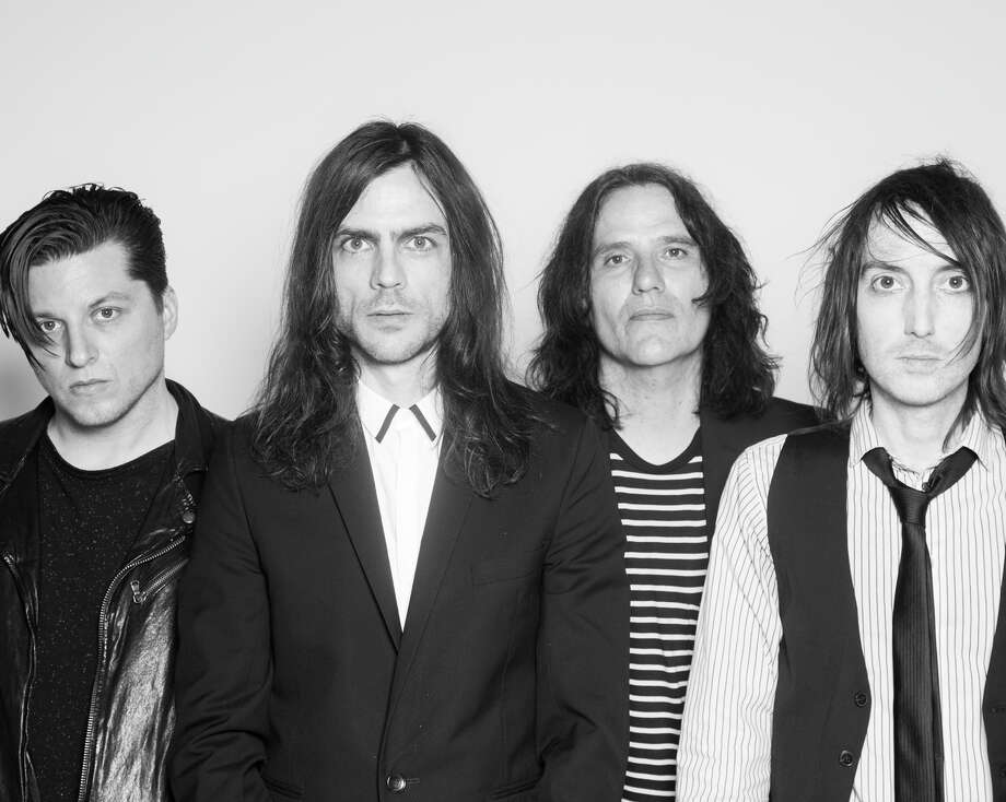 The Relationship band members Anthony Burulcich (left), Brian Bell, Nate Shaw and Jon LaRue. The rock band will perform at Bottom of the Hill in San Francisco on Friday, April 17. Photo: Rebel Union Ent. / ONLINE_YES