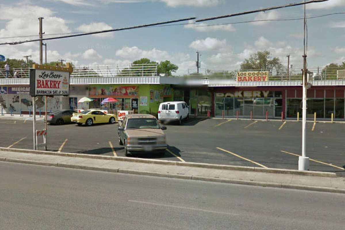 Los Cocos Bakery: 3309 West Ave., San Antonio, Texas 78213Date: 02/29/2016 Demerits: 16Highlights: Slight evidence of ants in the area where bulk bags of sugar and flour are stored, packaged sweet bread did not have proper labels, toxic chemicals stored near clean equipment, no certified food manager present, shelf holding clean kitchenware not clean to sigh and touch