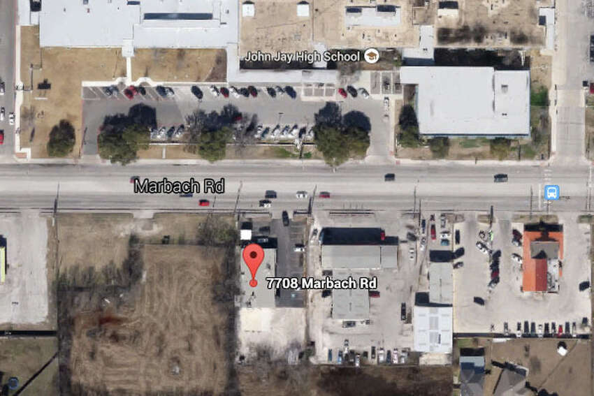 MUSTANG CAFE: 7708 MARBACH RD #1 San Antonio , TX 78227Highlights: Expired burger buns, cold hold cooler not working properly, food residue from ground beef on bottom level of fridge in dry storage room.