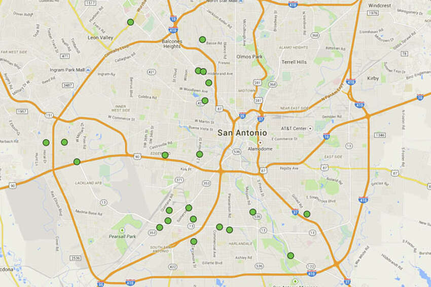 Click through to see the 22 San Antonio restaurants cited with 14 or more demerits in the most recent health inspection reports.