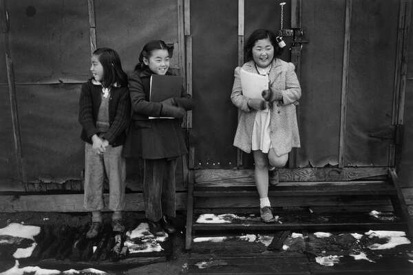 School children, Manzanar Relocation Center, California, 1943.