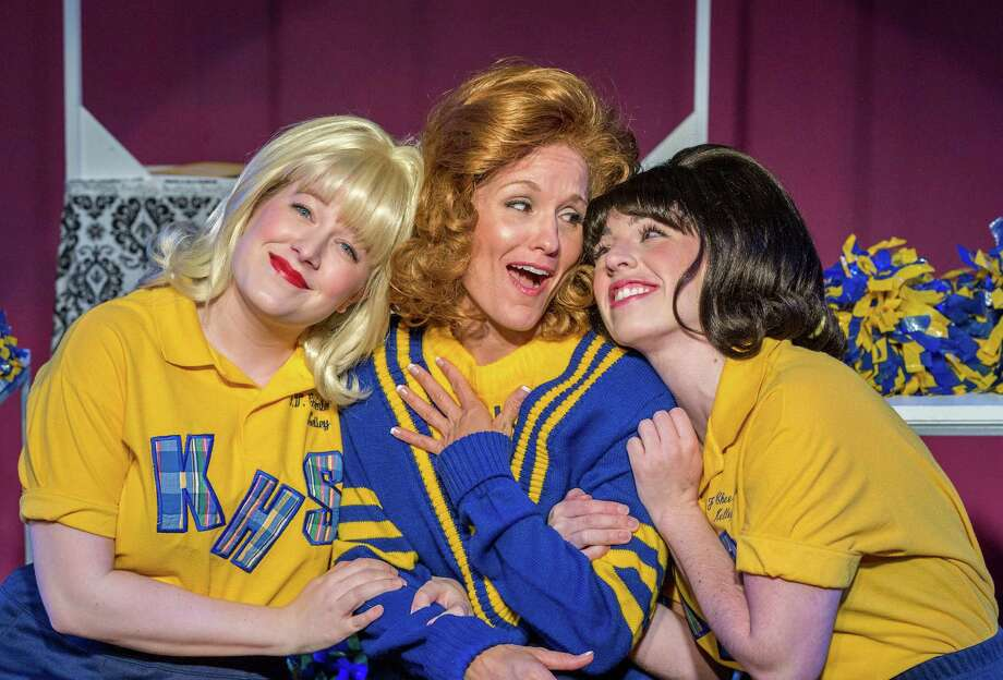 """Shelby Bray, from left, Danica Johnston and Robin Van Zandt star as three high school cheerleaders who promise to be friends for life in """"Vanities."""" Photo: Craig Hartley, Freelance / Copyright: Craig H. Hartley"""