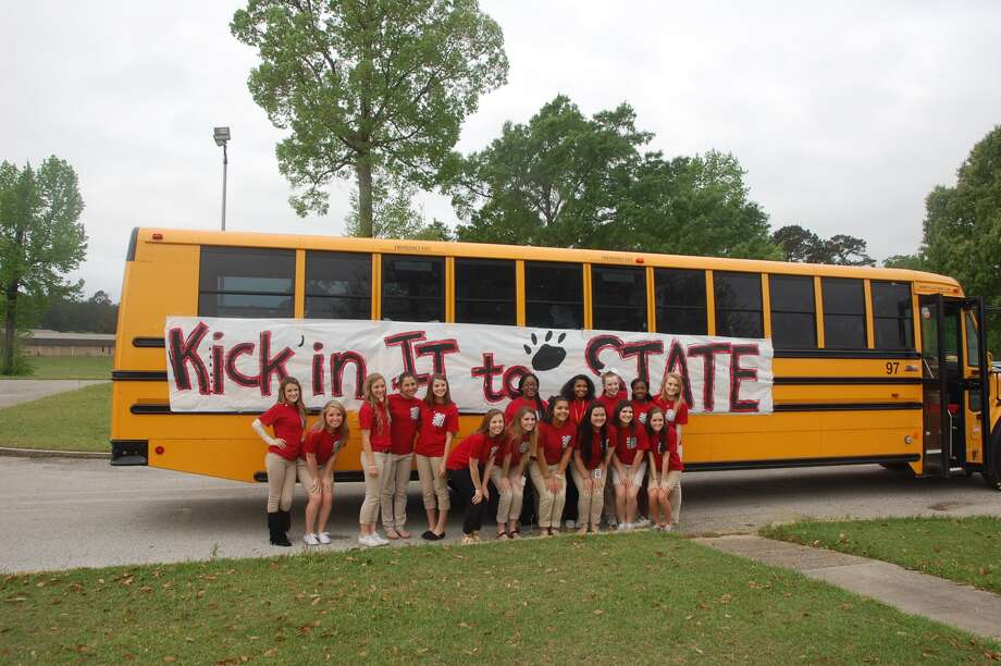 The Jasper girls' soccer team left this morning for their 3 p.m.  Class 4A regional semifinal in College Station. Photo: Jeff Reedy