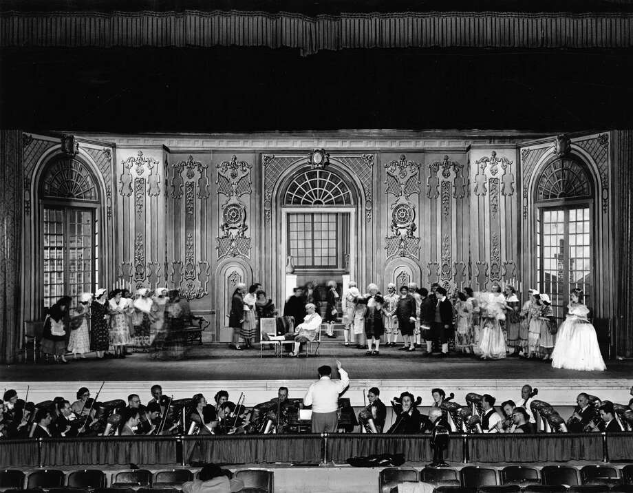 A performance of La Traviata at Municipal Auditorium is seen in this undated photo. Photo: Zintgraff Collection / UTSA Special Collections