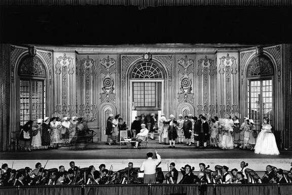 A performance of La Traviata at Municipal Auditorium is seen in this undated photo.