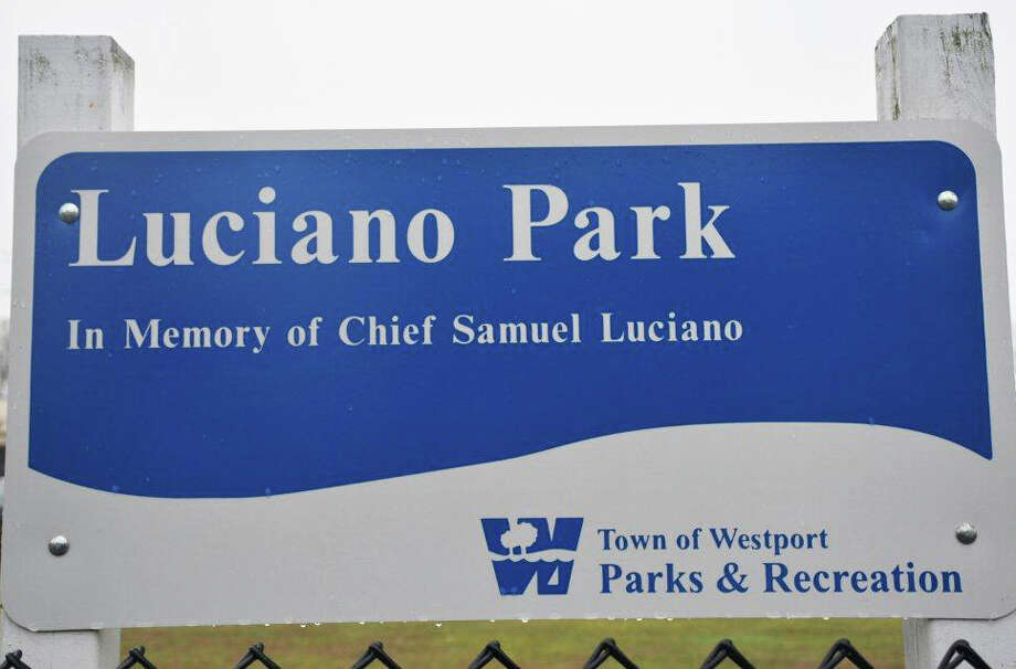 Improvements are being made at Luciano Park. Photo: Contributed Photo / westport news