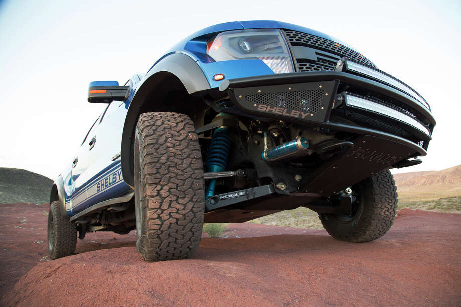 Shelby American announced a limited production run of a new Shelby Baja 700, which lends all the power and pop that the Shelby line of Mustangs has become known for to Ford's 2011-2014 SVT Raptor. Photo: Shelby American