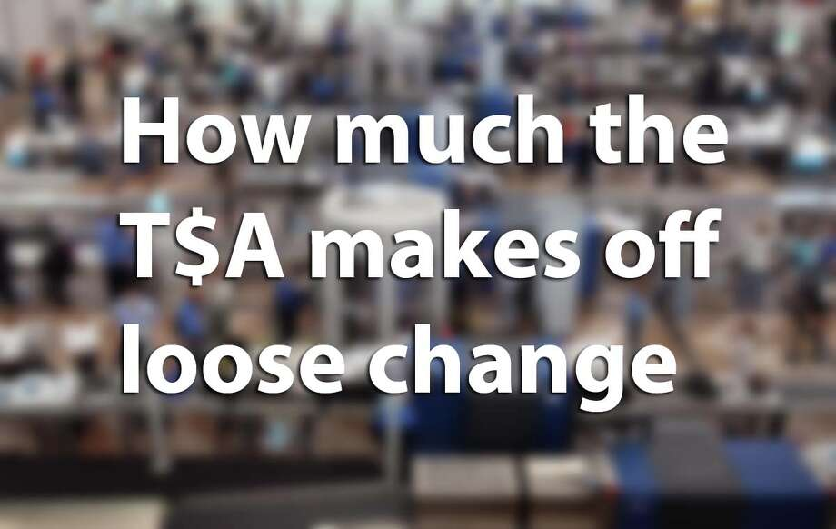 The TSA made more than $600,00 last year on money found at airports. Congress allows the agency to expend the pocket change on security. Click through to see how much the TSA made at America's busiest airports. Photo: Chron