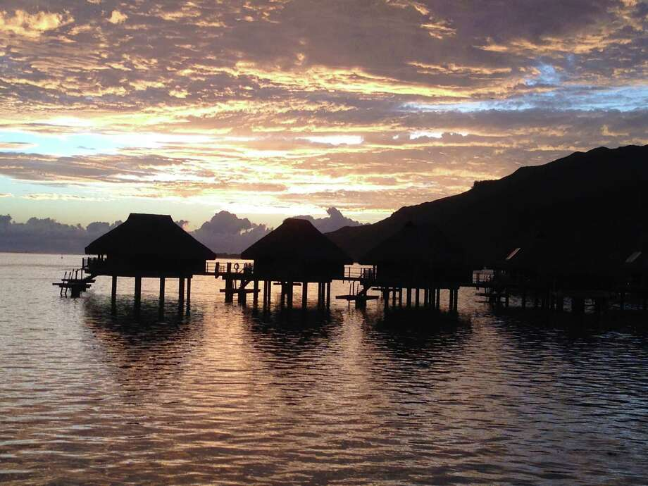 Chronicle reader Brenda Pickens of Katy submitted this vacation photo taken in Moorea, French Polynesia. Photo: Brenda Pickens / Brenda Pickens