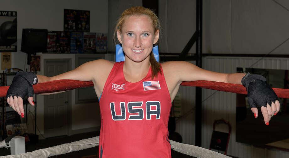 Flyweight boxer Ginny Fuchs. Photo: Wilf Thorne, Courtesy Ginny Fuchs / © Wilf Thorne