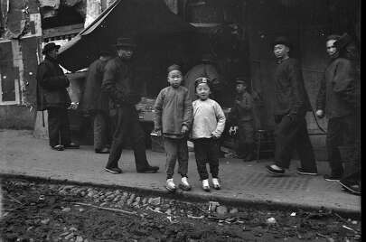 Chinatown, San Francisco, between 1896 and 1906.