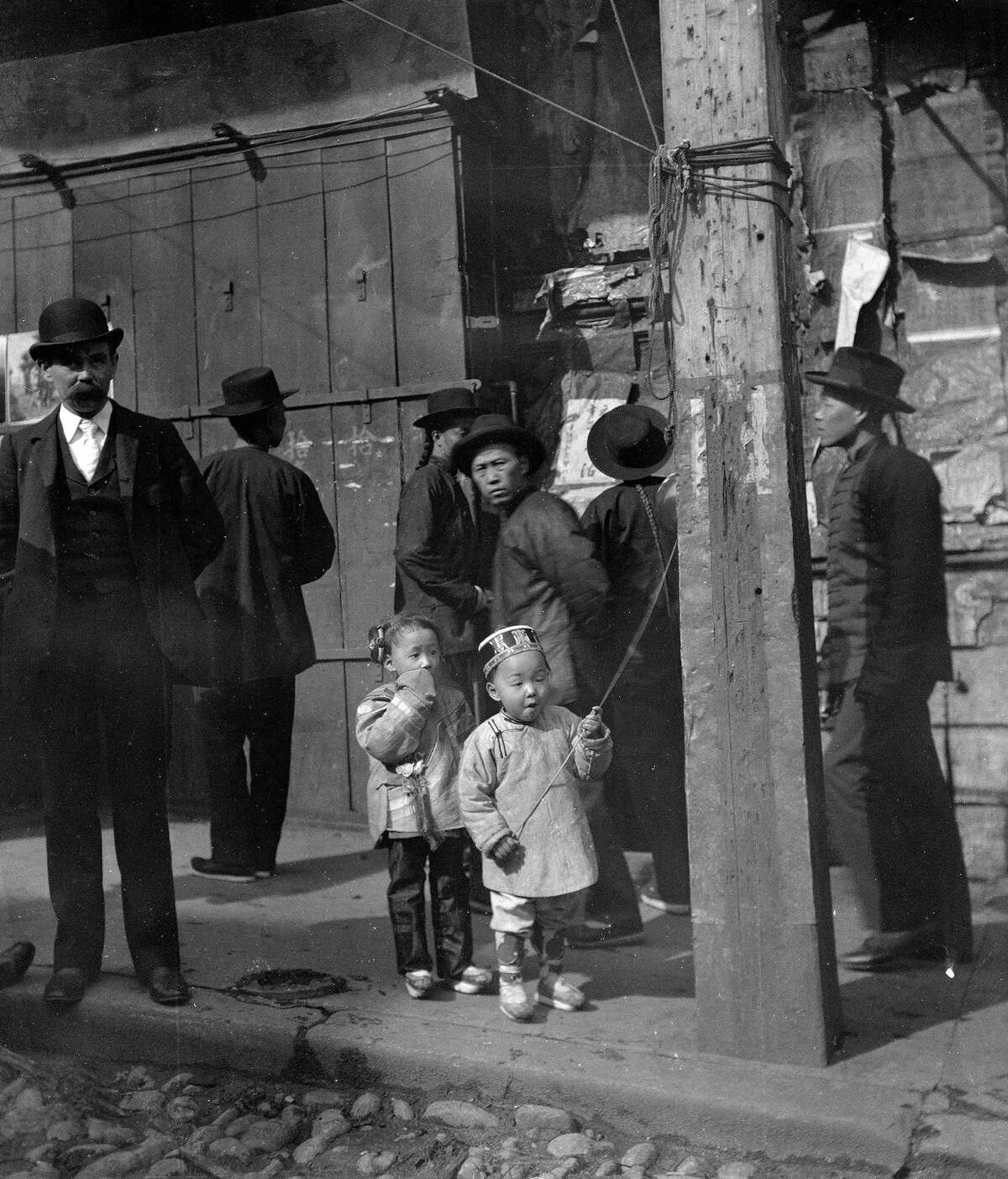 A holiday, Chinatown, San Francisco, between 1896 and 1906.