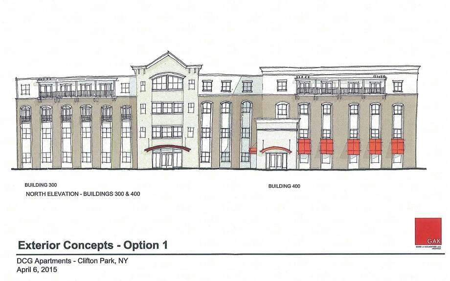 rendering of a proposed hotel conversion on route 146 in clifton park ny dcg development - Multi Hotel 2015
