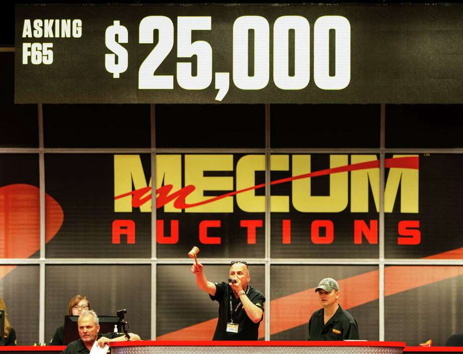 The Mecum Houston 2015 auction sold 645 out of 934 vehicles put on the block April 9-11 for $25,285,163 in total sales. Click through for a countdown of the Top 10 sales. Photo: Karen Warren, Houston Chronicle / © 2015 Houston Chronicle