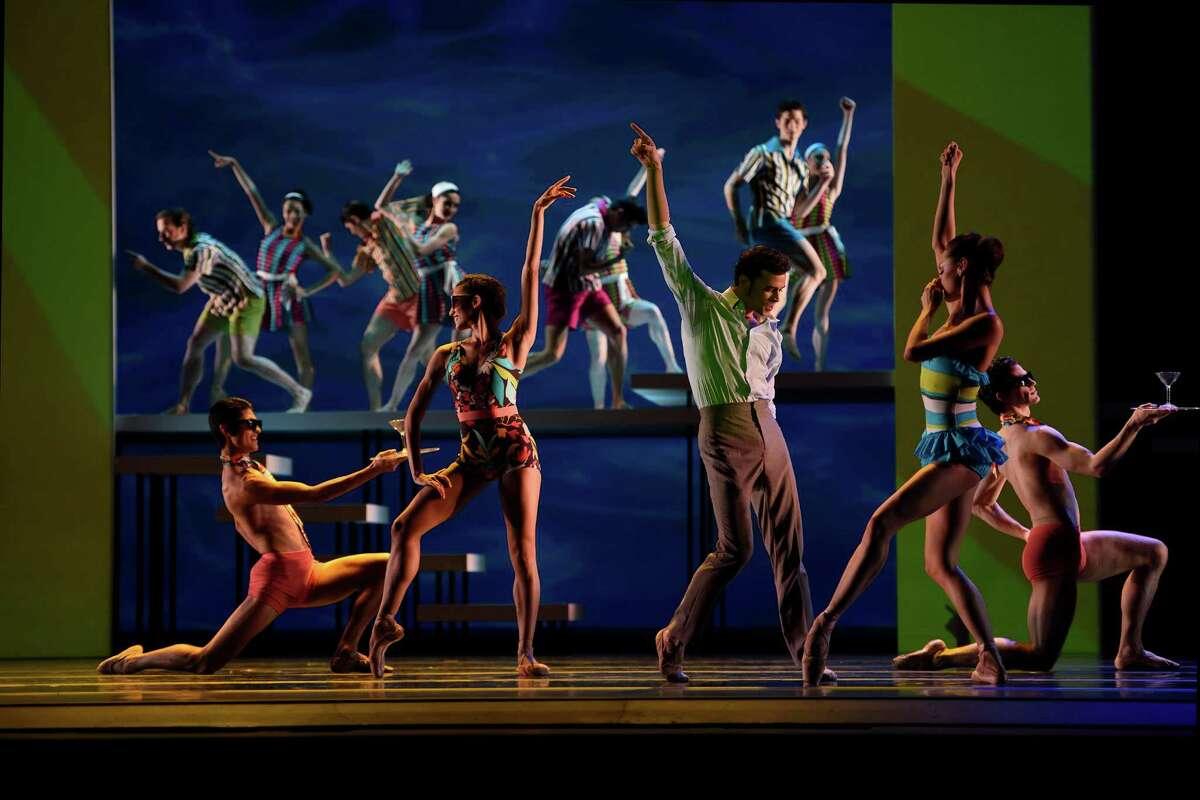 San Francisco Ballet in Possokhovs Swimmer.