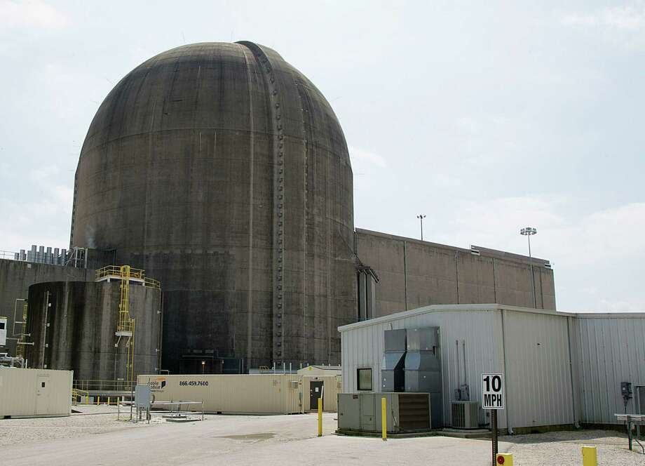 One of the nuclear power units at the South Texas Project nuclear power facility Thursday, April 2, 2015, in Wadsworth. ( James Nielsen / Houston Chronicle ) Photo: James Nielsen /Houston Chronicle / © 2015  Houston Chronicle