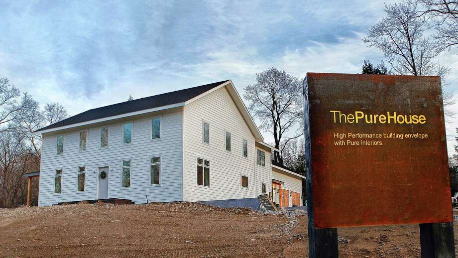 The property at 100 Coleytown Road is on the market for $2,800,000. Photo: Contributed Photo / Westport News
