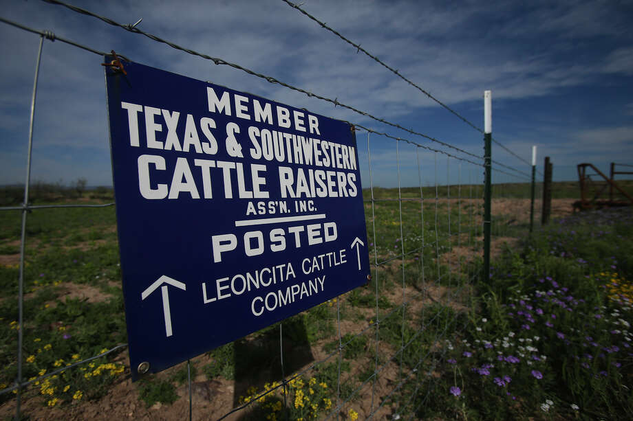 A sign at the Leoncita Ranch near Alpine warns people about boundaries. A proposed gas pipeline might pass through the area. The exact route of the Trans-Pecos Pipeline, is undisclosed.  Photo: John Davenport, Staff / ©San Antonio Express-News/John Davenport