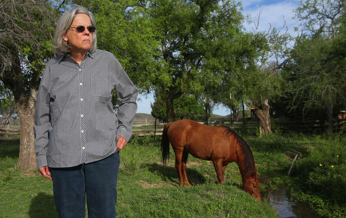 Former Brewster County Judge Val Beard claims that she caught a surveyor in an unmarked car on her property. Similar incidents have raised suspicions on eminent domain in the Big Bend area.