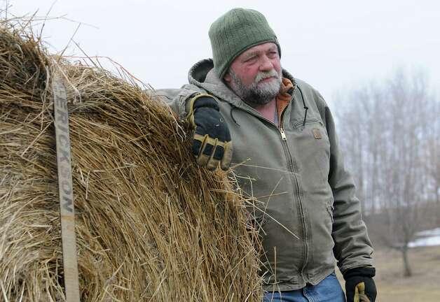 Farmer John Adams talks about the Robert Madsen case on Wednesday, April 8, 2015 in St. Johnsville, N.Y. Madsen was found guilty for sexually abusing 6 Amish boys in 2006. (Lori Van Buren / Times Union) Photo: Lori Van Buren