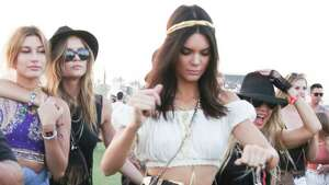 INDIO, CA - APRIL 11: Kendall Jenner is seen at Coachella Valley Music and Arts Festival at The Empire Polo Club on April 11, 2015 in Indio, California.  (Photo by Light Brigade/Bauer-Griffin/GC Images)