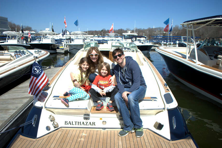 The annual Greenwich Boat Show took place on April 11 and 12, 2015 on the Mianus River in Cos Cob. Were you SEEN on Sunday, April 12? Photo: Picasa, Lauren Stevens/Hearst Connecticut Media Group