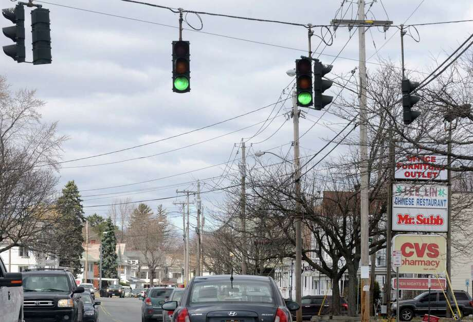 A strip of Pawling Avenue between Spring Avenue and Winter Street on Saturday April 11, 2015 in Troy, N.Y. (Michael P. Farrell/Times Union) Photo: Michael P. Farrell / 00031403A
