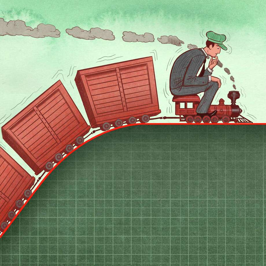Stocks and bonds ended the first three months of 2015 little changed, leveling off from the steep rise of recent years. Uncertainty about interest rates stoked worries about what lies ahead. Photo: Illustration By Koren Shadmi /New York Times / NYTNS