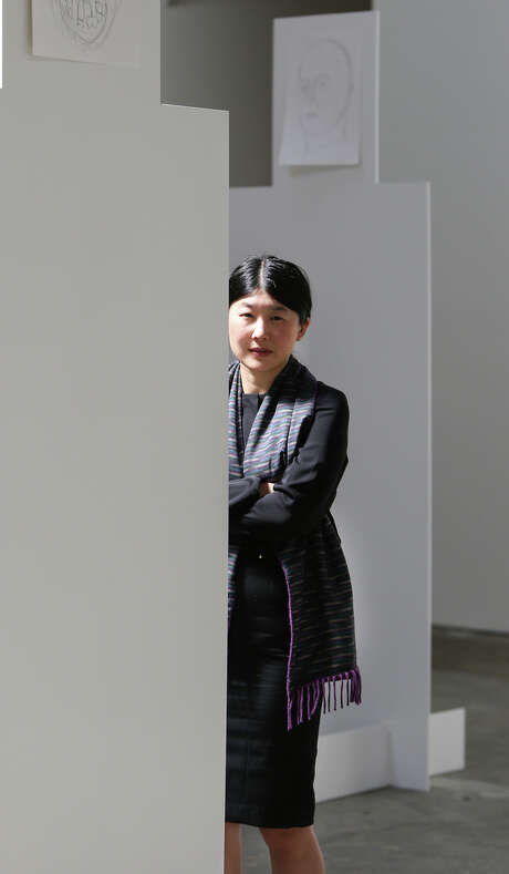 Micki Meng, assistant director at CCA Wattis Institute for Contemporary Arts in San Francisco. Photo: Amy Osborne / The Chronicle / ONLINE_YES