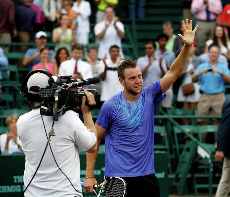 Jack Sock welcomes Sunday's win after dealing with injury and illness this past year. Photo: Craig Hartley, Freelance / Copyright: Craig H. Hartley