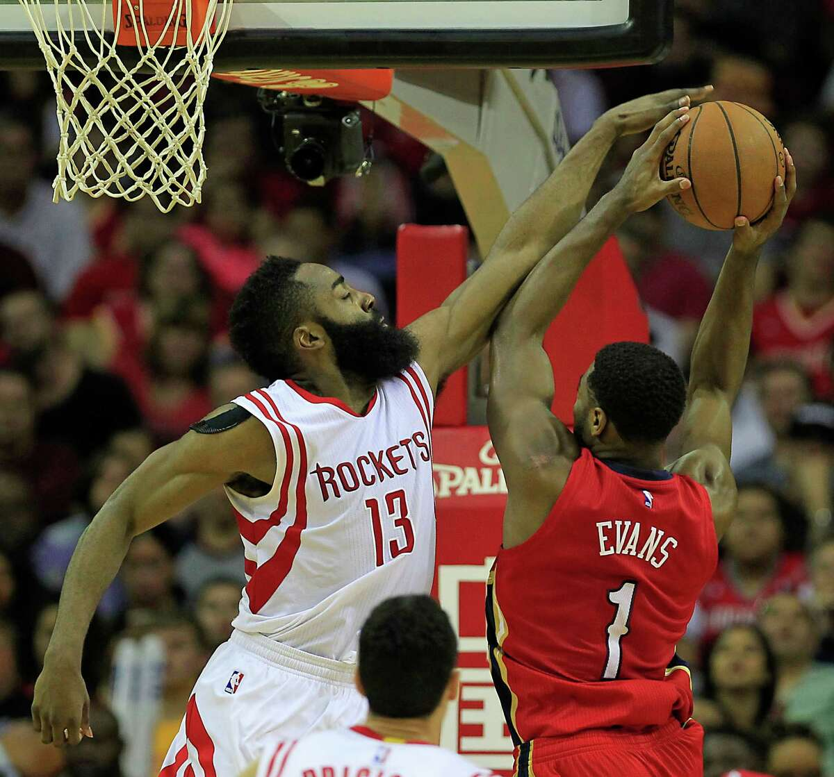 Judge his defense off more than a Vine video If you got all your NBA knowledge by watching Vine videos, then you have concluded James Harden is the worst defensive player in the history of basketball. Fortunately, the sport is much more than six-second videos. Sure, he's never going to be confused with Vernon Maxwell on the defensive end, but he's not close to the worst defender in the league. Those Vine videos also make some question his defensive effort since they're usually clips of him giving up on a play. Harden is asked to do more than any other player in the league, and there is no question, he sometimes takes a play off, but watch an entire game. It'll be more telling than the Vine video your friend sent you. We promise.