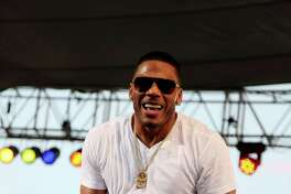 FILE- In this March 13, 2015, file photo, U.S. rapper Nelly performs in a concert in Irbil, northern Iraq. Nelly is facing felony drug charges after being arrested in Tennessee, Saturday, April 11, 2015, according to a Tennessee Highway Patrol news release. (AP Photo/Seivan M. Salim, File) ORG XMIT: NY121