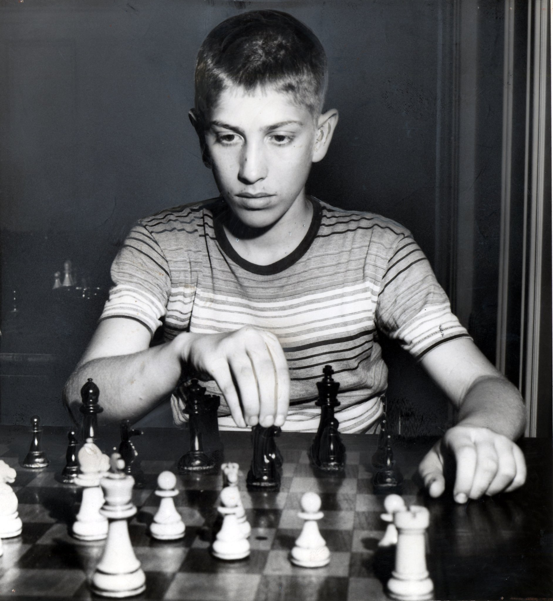 Chess genius Bobby Fischer spent his childhood in Brooklyn