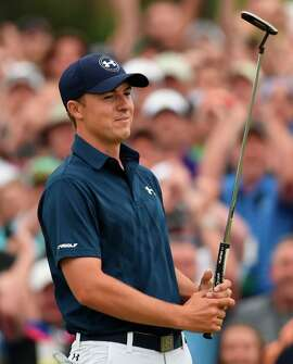 Masters champion Jordan Spieth, 21, is ranked No. 2 in the world.