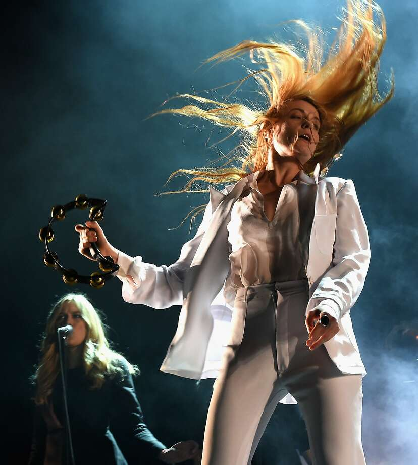 INDIO, CA - APRIL 12:  Singer Florence Welch of Florence and the Machine performs onstage during day 3 of the 2015 Coachella Valley Music & Arts Festival (Weekend 1) at the Empire Polo Club on April 12, 2015 in Indio, California.  (Photo by Kevin Winter/Getty Images for Coachella) Photo: Kevin Winter, Getty Images For Coachella
