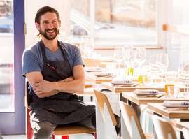 Chef Aaron London at Al's Place in San Francisco, Calif., is seen on Thursday, April 2nd,  2015.