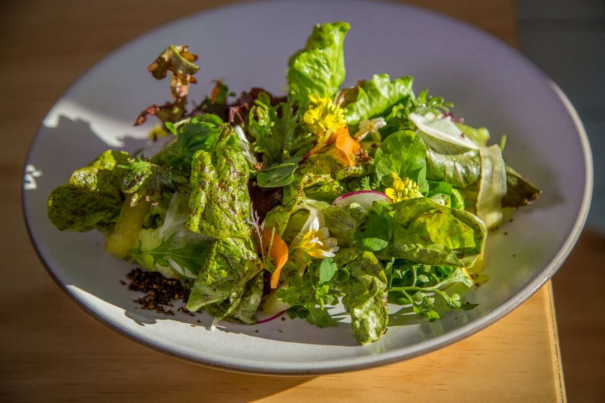 Baby lettuces at Al's Place in San Francisco, Calif., is seen on Thursday, April 2nd, 2015.
