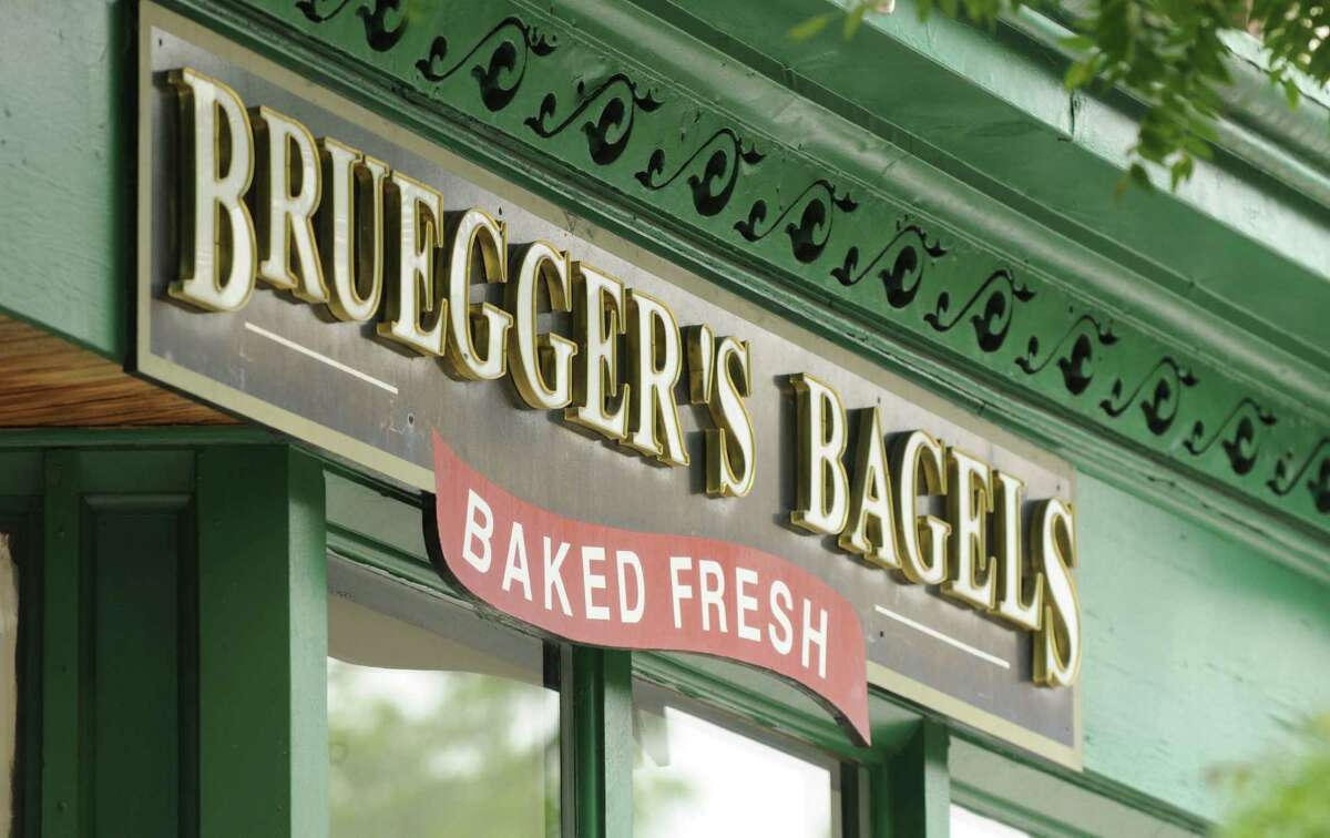 Bruegger's Bagels Get a free iced or hot coffee with any purchase. You'll need to be a member of the Bruegger's Bagels Inner Circle Rewards Program. Sign upherefor free.