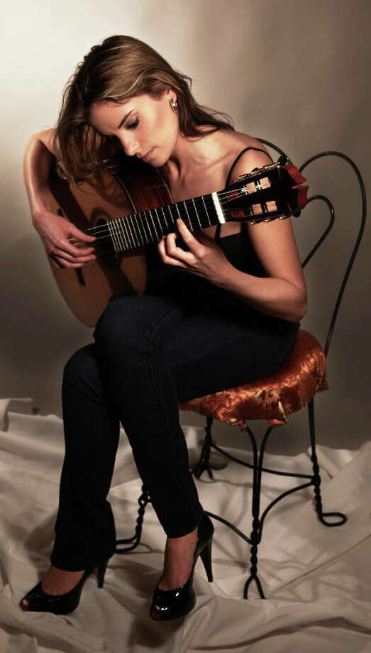 Classical guitarist Ana Vidovic will perform at the Westport Arts Center on April 26. Photo: Contributed Photo / westport news